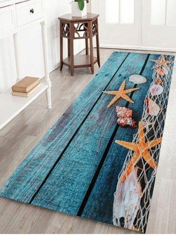 Starfish Shell Large Size Fleece Bath Rug Affordable Home Decor Home Decor Online Inexpensive Home Decor