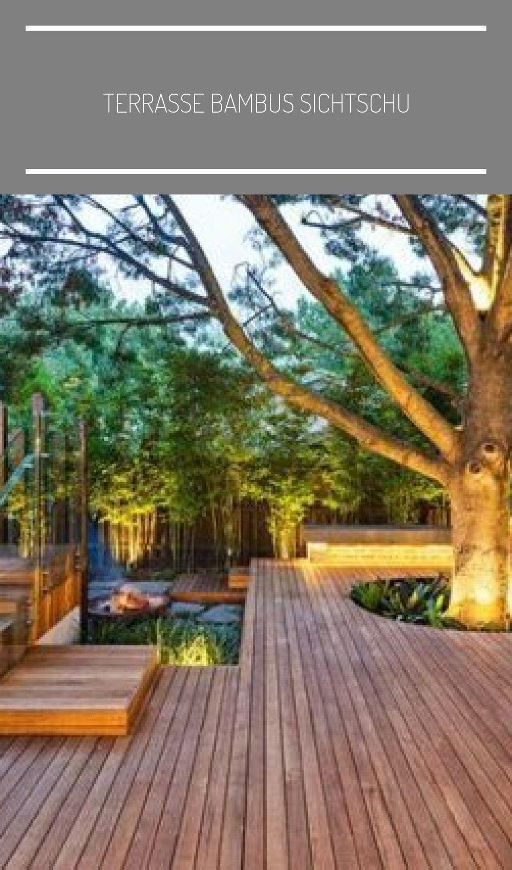 Terrassenschutz Aus Bambus Schutz Aus Sicht Auf Bambus
