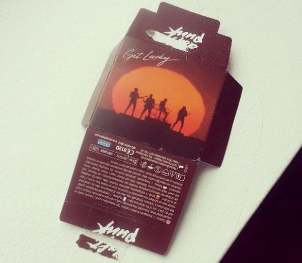"""Daft Punk to release """"Get Lucky"""" condoms"""