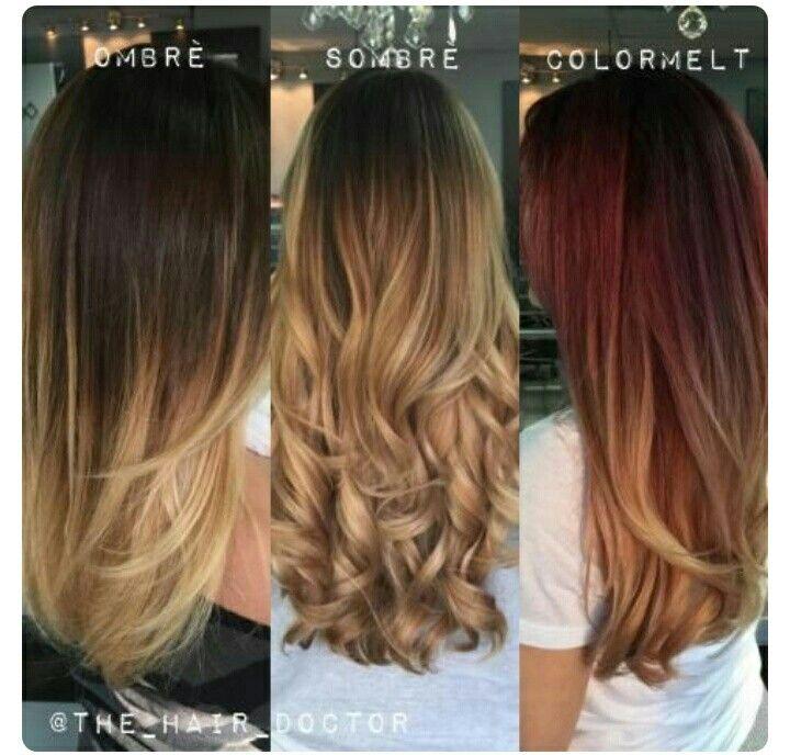 ea10157aae5f5 Ombre çeşitleri Balyaj, Saç Makyaj, Uzun Saç Modelleri, Renk, Güzellik