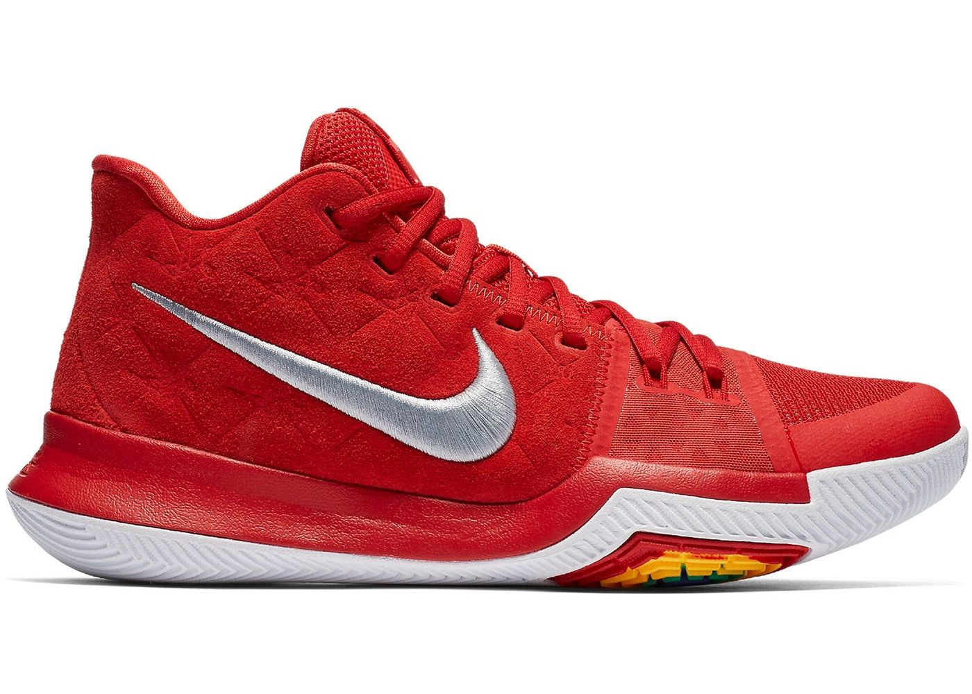 39118a7e Kyrie 3 Red Suede | sneakers | Nike, Sneakers nike, Shoes