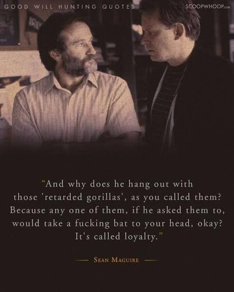 20 Moving Quotes From Good Will Hunting About Life Love And How To Never Have Regrets Good Will Hunting Quotes Good Will Hunting Hunting Quotes