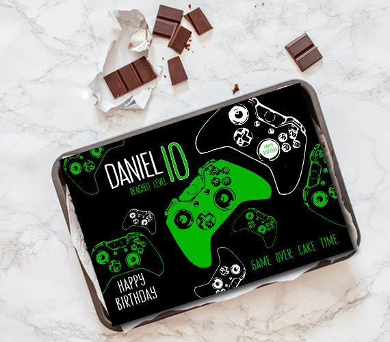 Decorations Cake Toppers Birthday Cake Topper Party Gamer Gaming Handheld Video Game Controller Cake Toppers