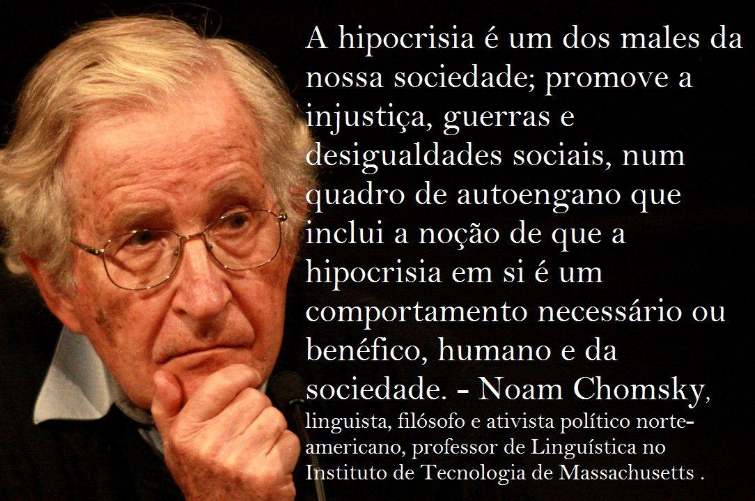 O Espiritualismo Ocidental Noam Chomsky Em Entrevista Para