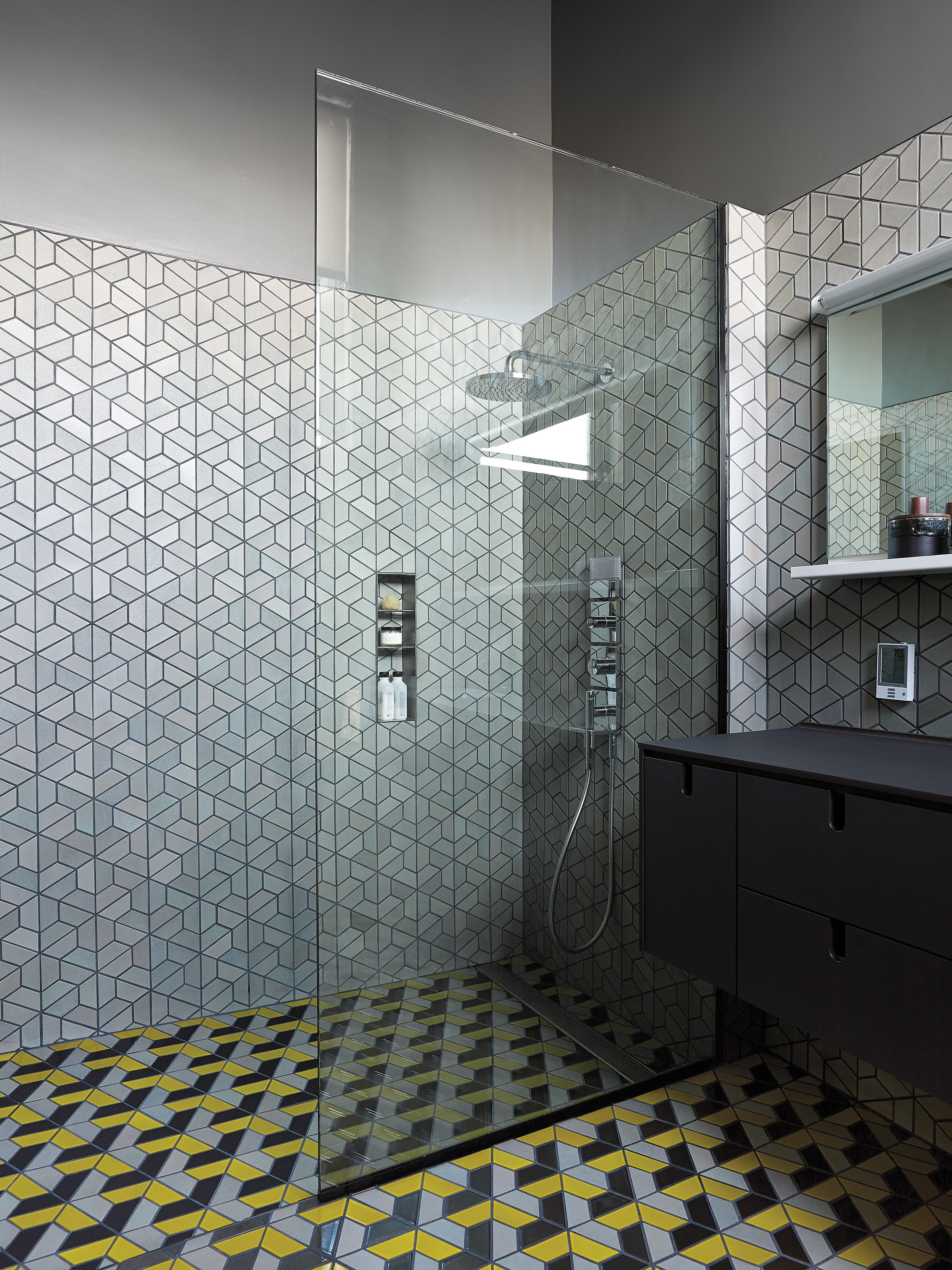 How to create the bathroom tile design of your dreams heath how to create the bathroom tile design of your dreams dailygadgetfo Image collections