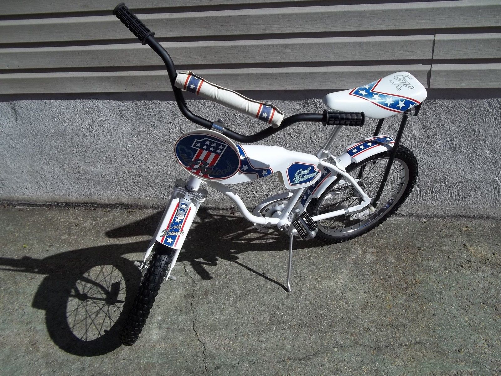 Evel Knievel S 1976 Harley Davidson Xl1000 Is For Sale: Details About 1980s Huffy Thunder Evel Knievel Bicycle 20