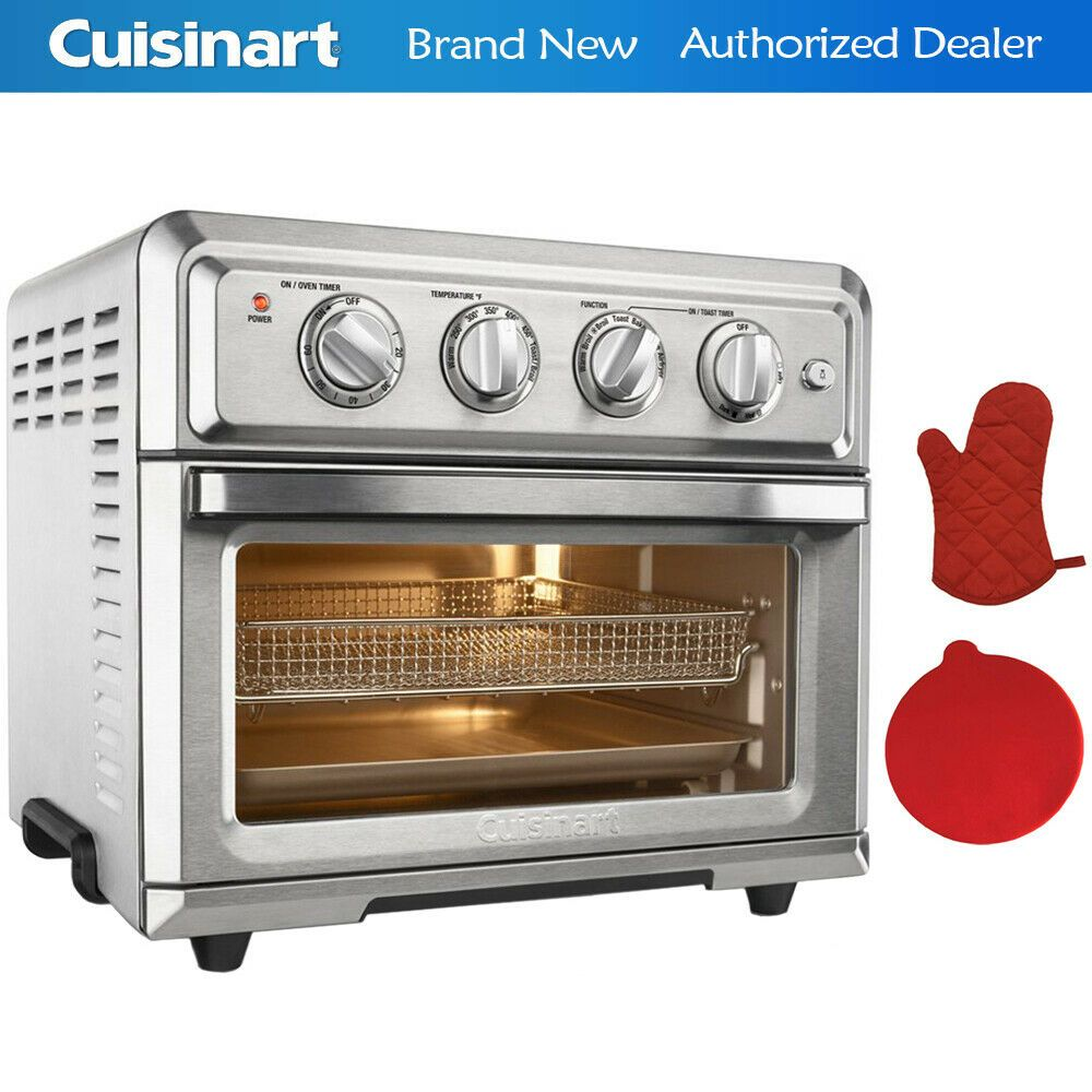 Cuisinart Convection Toaster Oven Air Fryer W Light Oven Mitt Ovens Ideas Of Ovens Ovens Toaster Oven Convection Toaster Oven Toaster