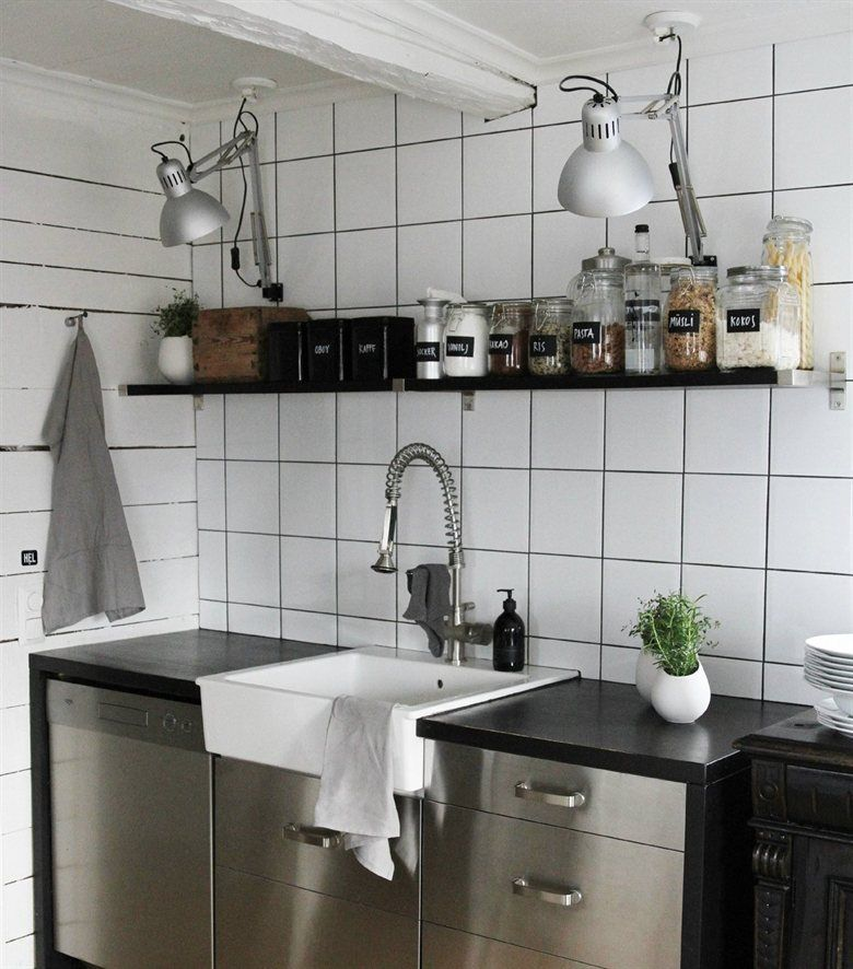 Industrial kitchen | TERTIAL lamps | live from IKEA FAMILY ...