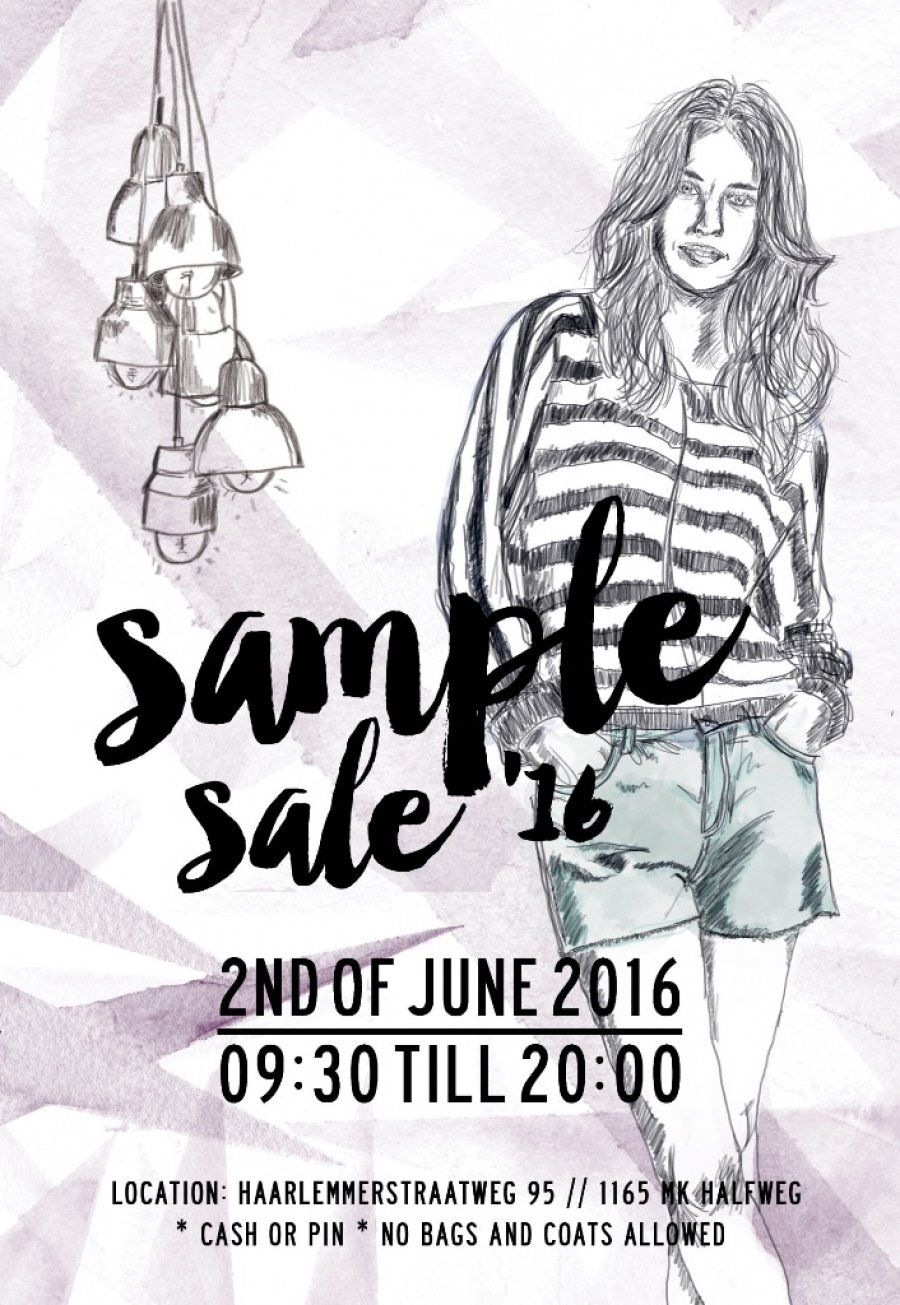 YAYA sample sale -- Halfweg -- 02/06