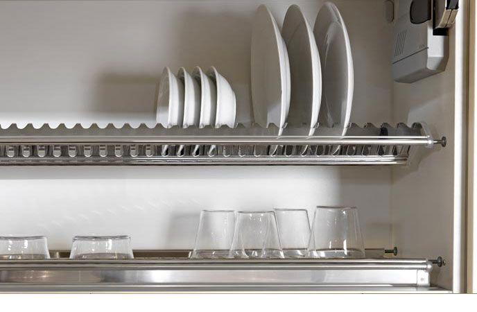 Tecnoinox Inoxmatic scolapiatti per pensile Kitchen design