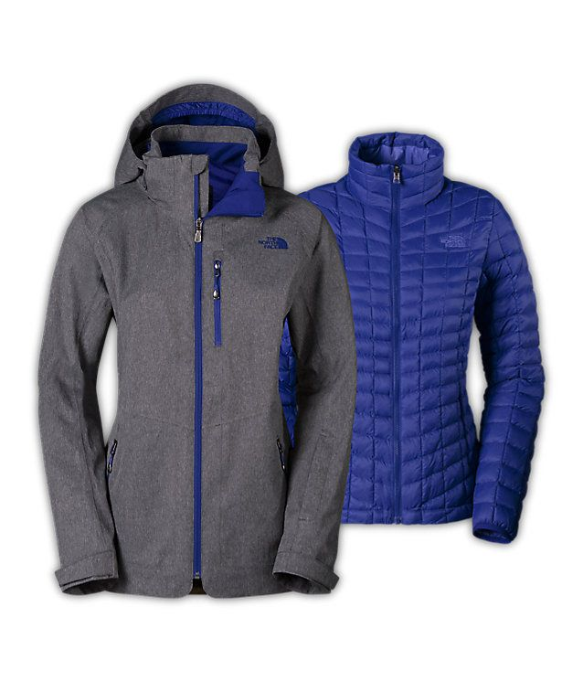 Women's thermoball™ snow triclimate® parka | Jackets for