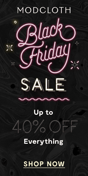 Check out the ModCloth Black Friday 2016 Coupon! Save up to 40% off!     Modcloth Black Friday Sale: Up to 40% Off! →  https://hellosubscription.com/2016/11/modcloth-black-friday-sale-40-off/ #BlackFriday #ModCloth  #subscriptionbox