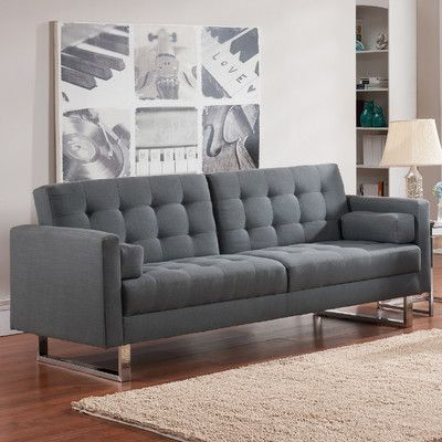 Lysander 87 Square Arm Sleeper Home Decor Sofa Sleeper Sofa