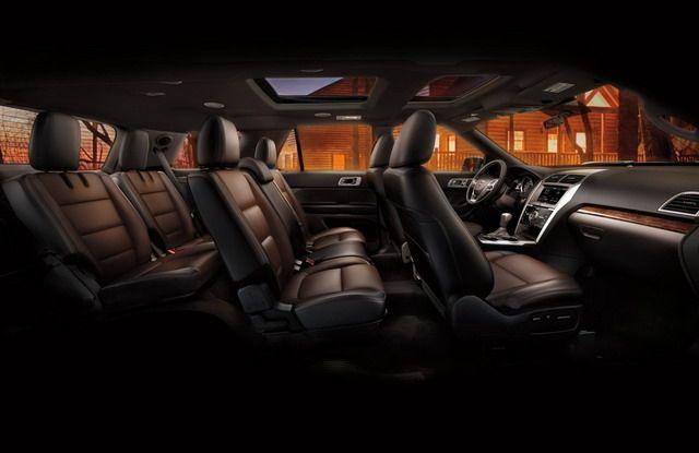 2015 Ford Explorer Interior   Best 4 Cylinder SUV