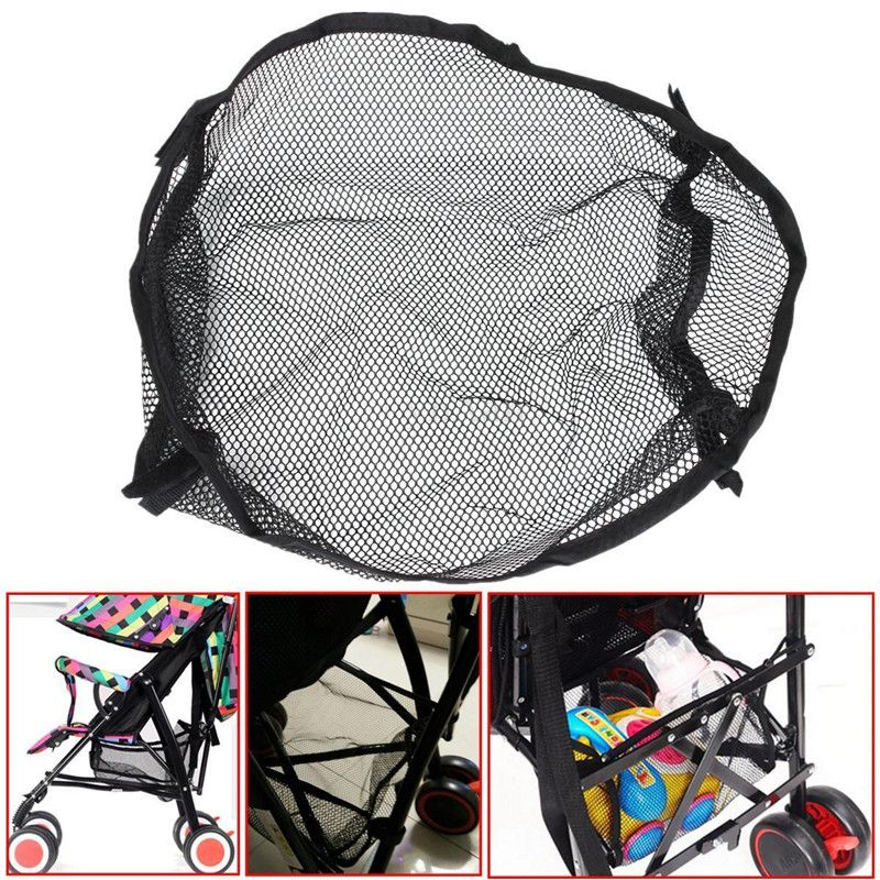 Universal Under Storage Net Bag For Buggy Baby Stroller Pram ...