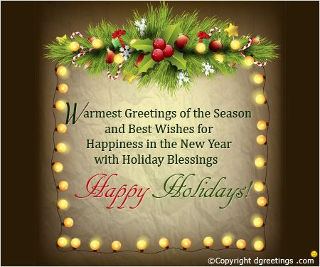 Holiday Messages  Bett    Holiday Messages And Holidays