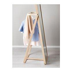 Standspiegel Ikea ikornnes standspiegel esche floor mirror laundry and room
