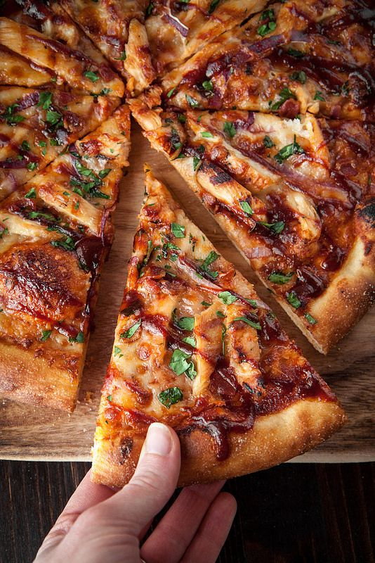 "Photo of Barbecue Chicken Pizza with Homemade ""Sweet Baby Ray's"" Sauce – Will Cook For Friends"