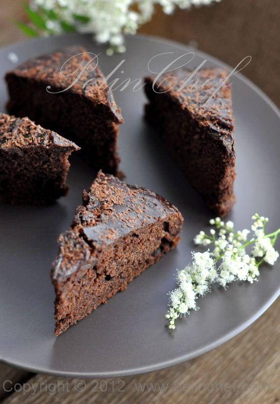 Nemli Çikolatalı Kek #kuchenkekse