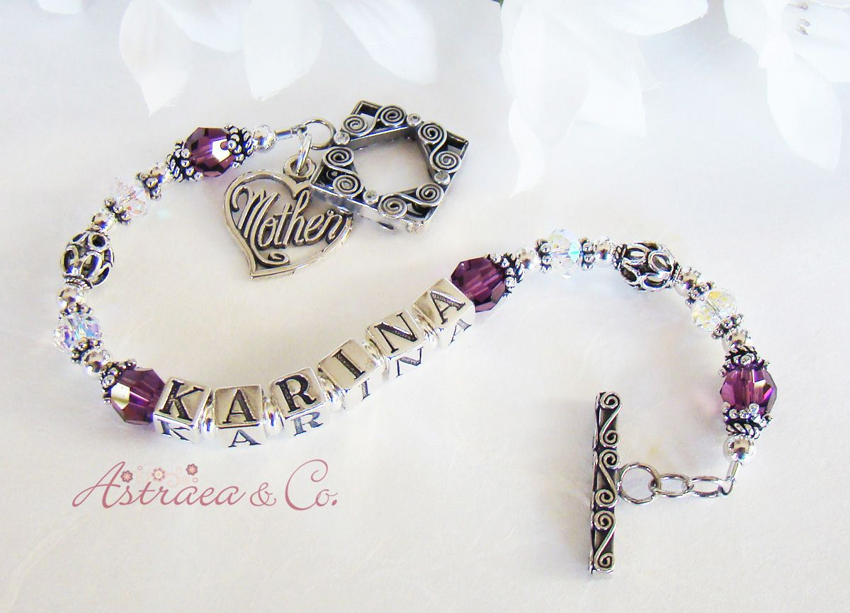 The anna collection mommy bracelet light dances up and down this