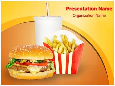 fast food mcdonalds powerpoint template is one of the best