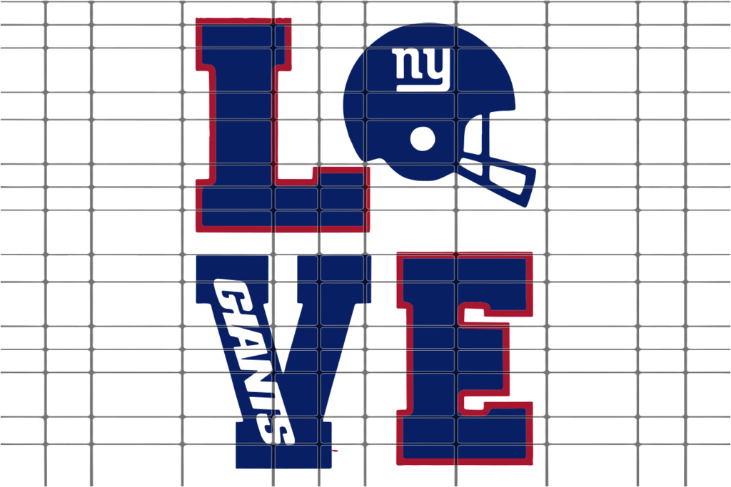 Love New York Giants Svg Dxf Eps Png Instant Download New York Giants Memes New York Giants New York Giants Logo