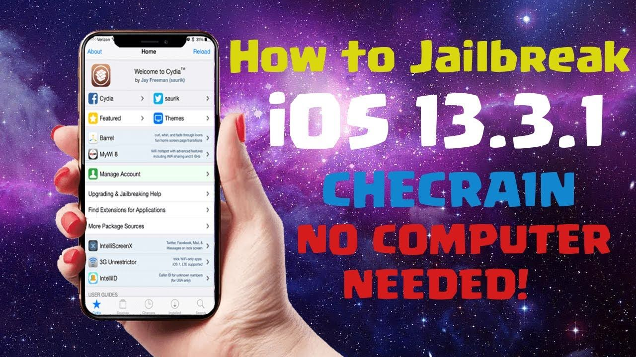 How to Jailbreak iOS 13.3.1 No PC/MAC (Cydia & Checra1n