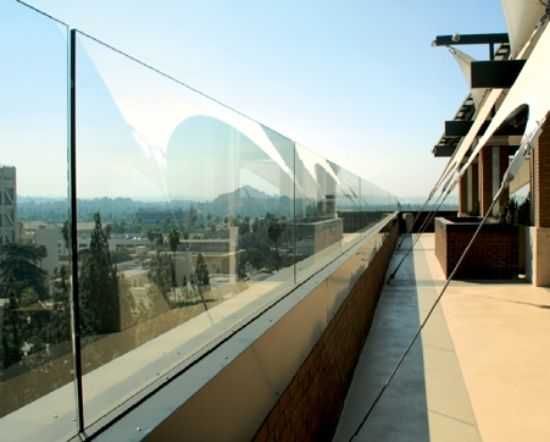 glas paneele ideen garten balkon windschutz | Zukünftige Projekte ...