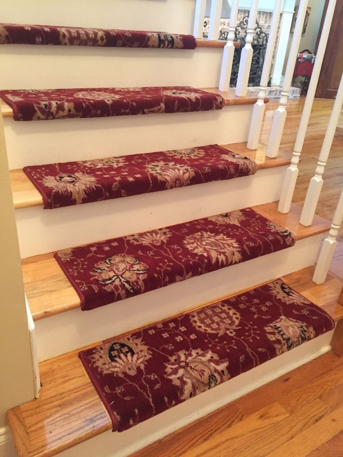 Pin by Demetrious McCauley on stairs Carpet stair treads