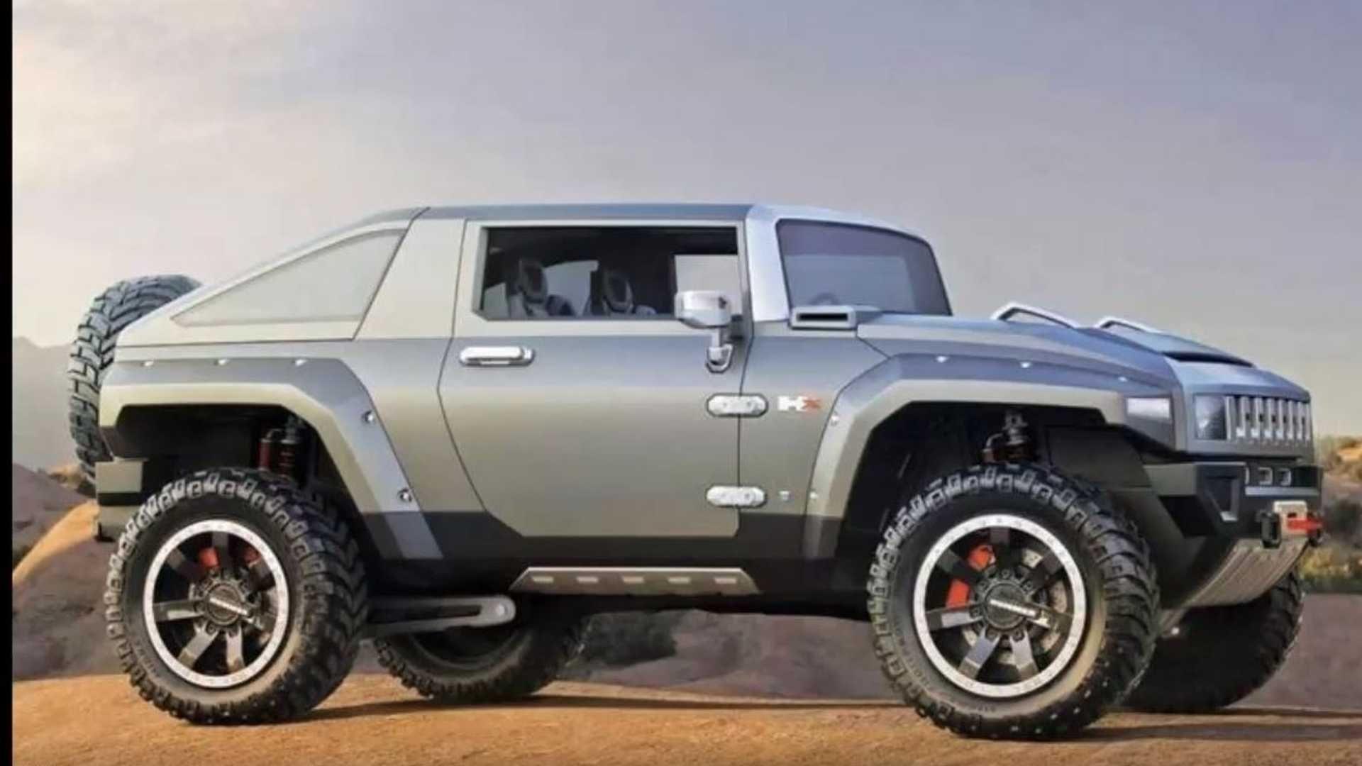 Hummer Electric Truck Concept di 2020
