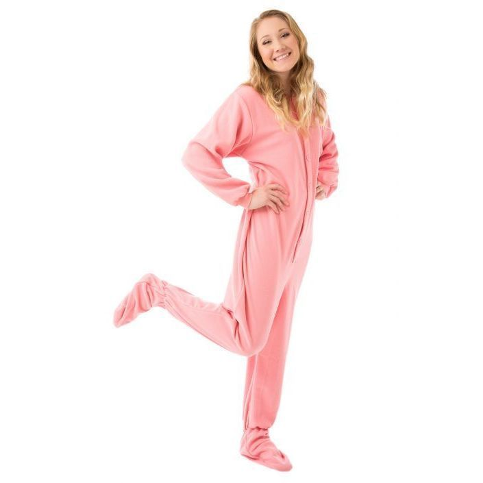 Adult Footed Fleece Pajamas