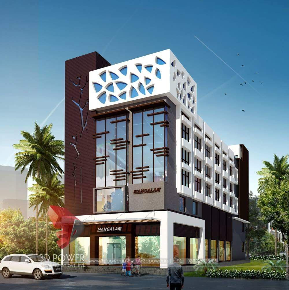 Front Elevation Design Ideas From Architects In Jaipur: Building Elevation, Commercial Design