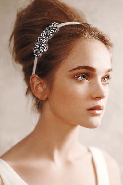 Add shape and effortless chic to your look with a headband.