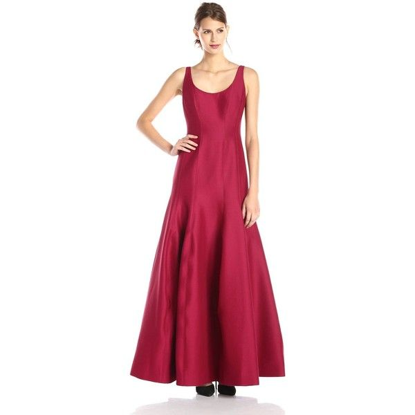 HALSTON HERITAGE Women\'s Tulip Evening Gown (270 CAD) ❤ liked on ...