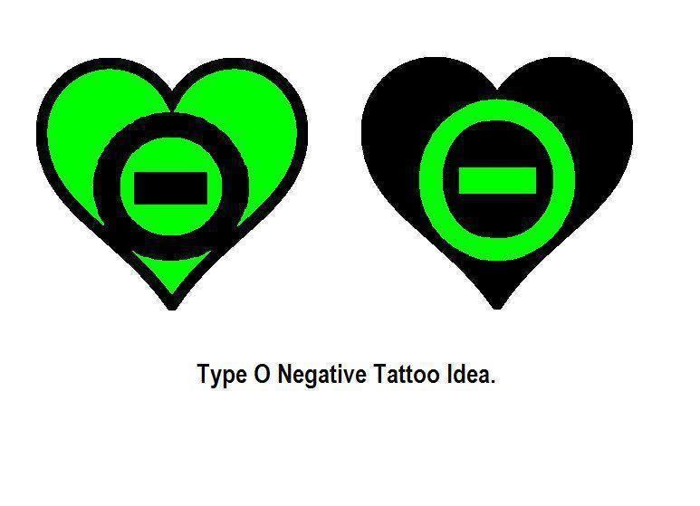 Type O Negative Heart Negative Tattoo Type O Negative Sketch Book