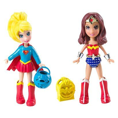 Wonder Woman and Supergirl by Polly pocket! Yes I own these.
