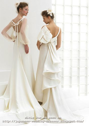 Japanese Wedding Dresses Beyond the Kimono | wedding dressess ...