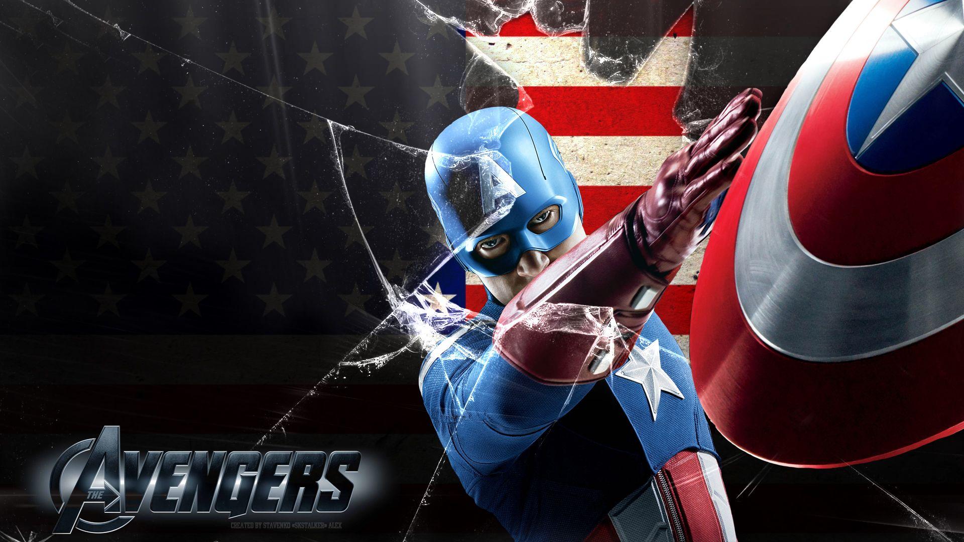 Avengers Captain America Wallpaper 1080p By Skstalker Deviantart Com On Deviantart Captain America Wallpaper Avengers Wallpaper Captain America 1080p full hd 1080p captain america hd