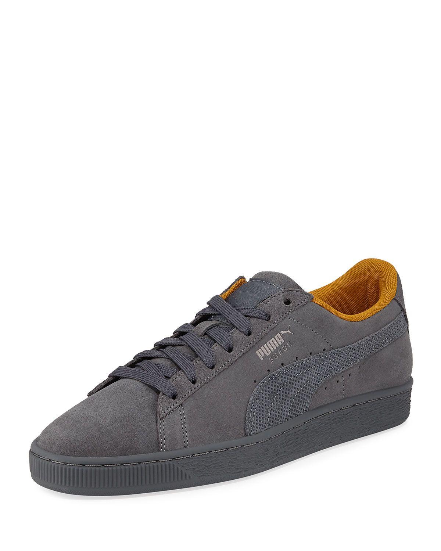 online store 2c3f0 47dc7 PUMA MEN'S SUEDE CLASSIC TONAL NU SKOOL SNEAKERS. #puma ...