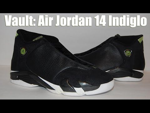 662881dcffd Vault  Air Jordan 14 OG  Indiglo  http   www.sneakerfiles