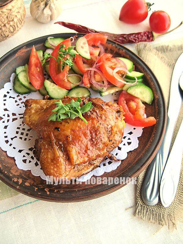 бедра куриные в мультиварке рецепты с фото