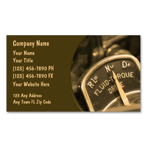 Automotive business cards retro automotive business cards automotive business cards retro reheart Images