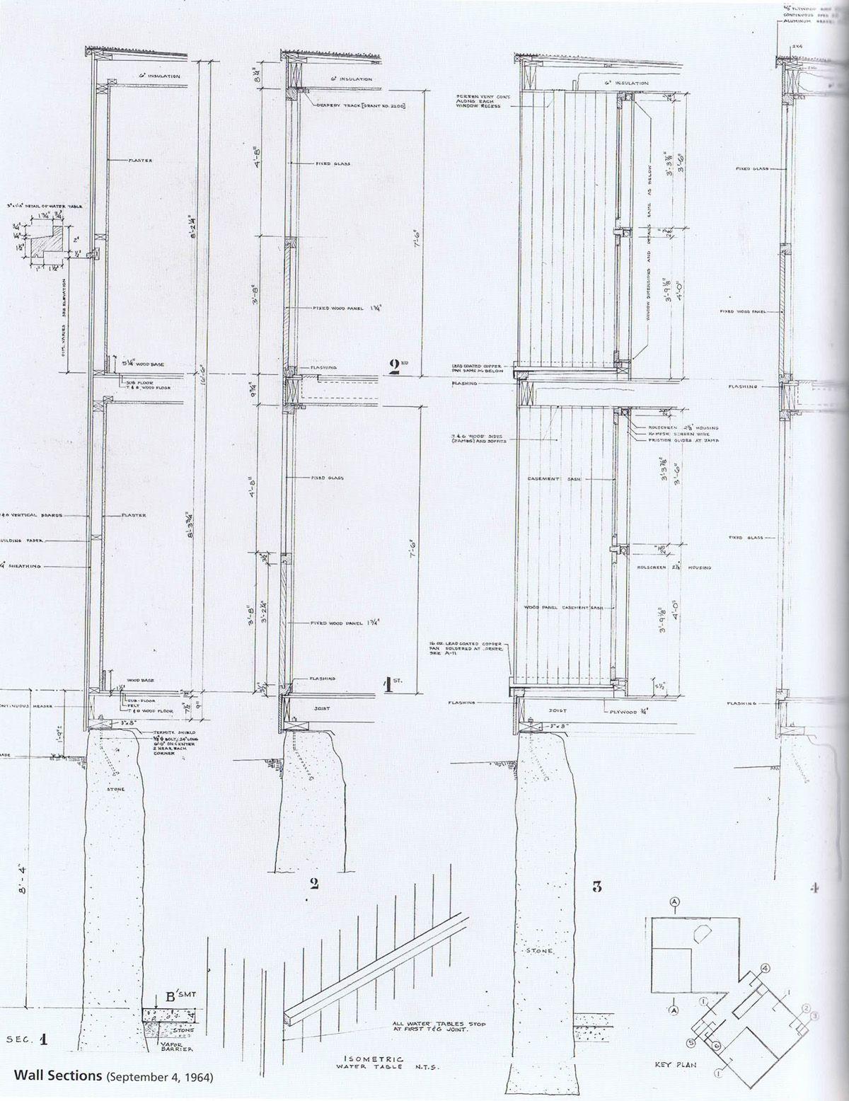... Plan House Interior Louis Kahn U003e Fisher House Hic Arquitectura  Detail Drawings ...