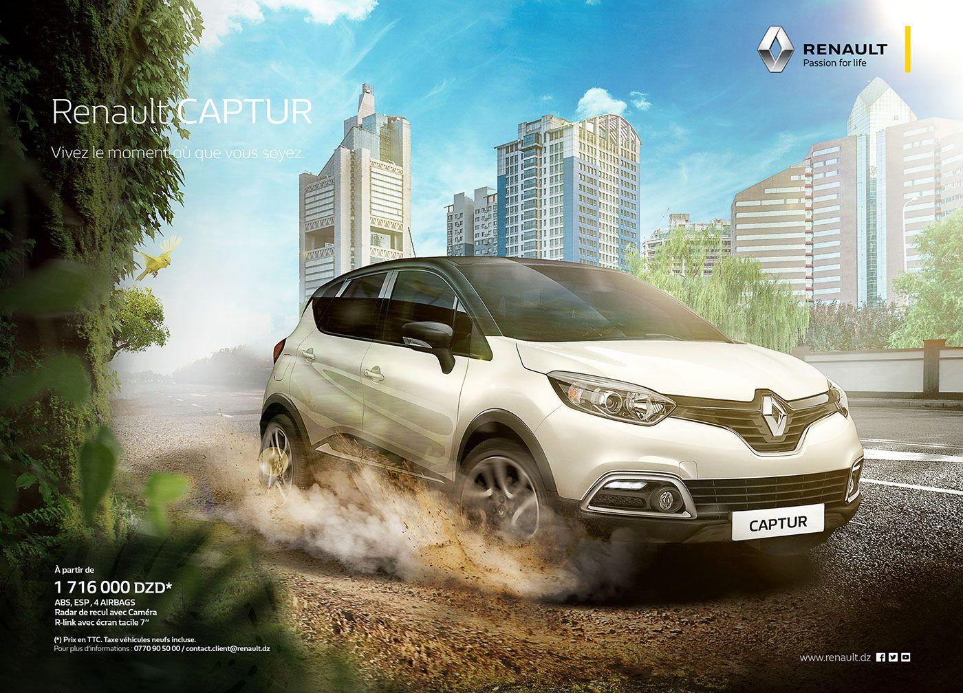 Renault Captur On Behance Auto Carros Redes Sociais