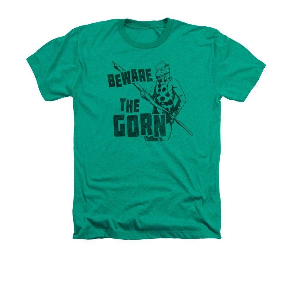 Star Trek - Beware The Gorn Adult Regular Fit Heather T-Shirt