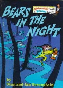 Bears In The Night Children S Book Math Books Childhood Books Favorite Childhood Books