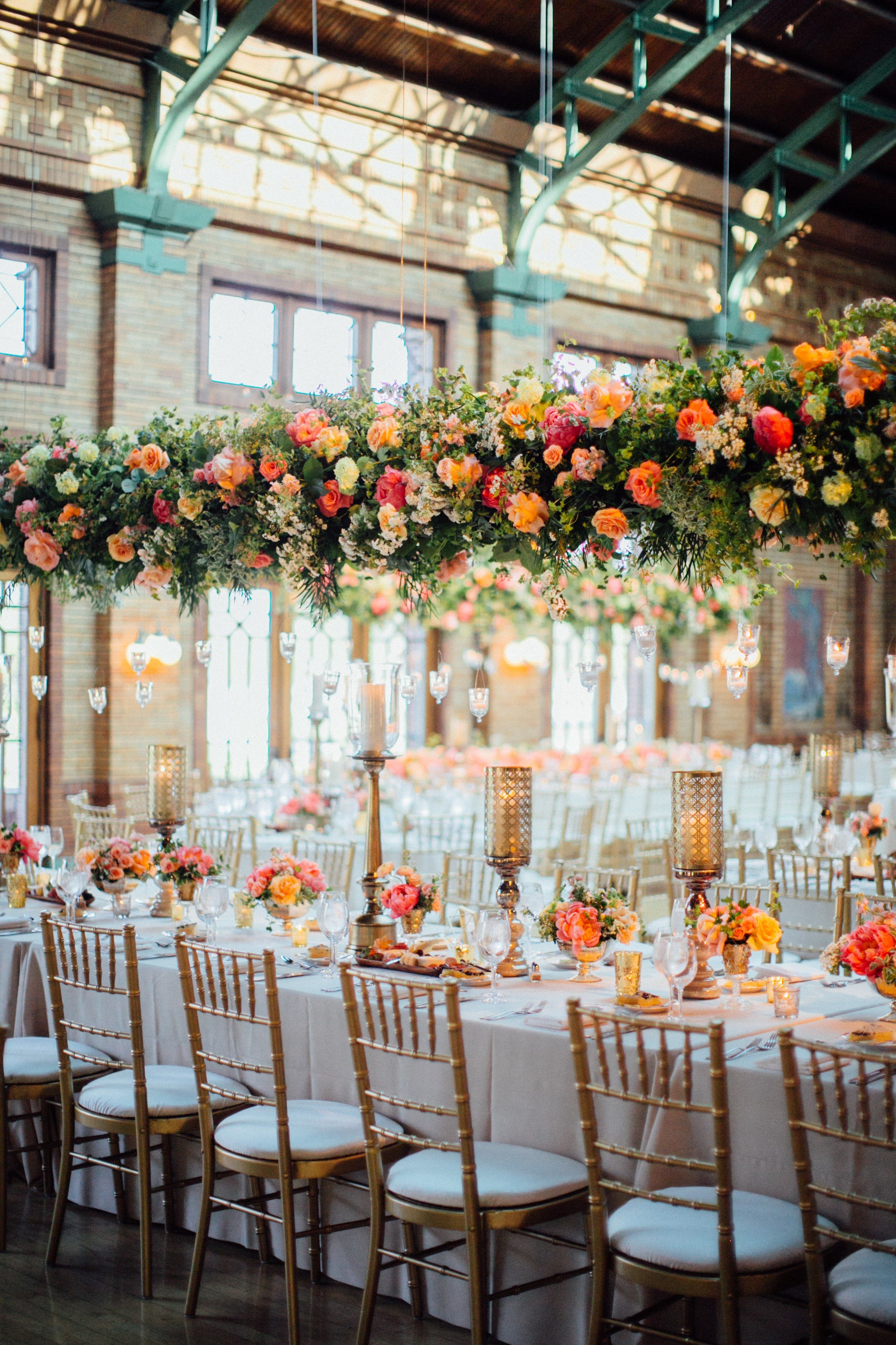 wedding receptions gold coast qld%0A Bright Colors and Whimsical Design Transformed This Iconic Chicago Venue