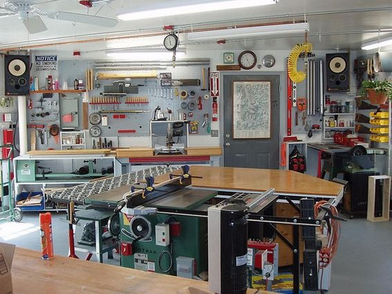 Eye Candy 10 Drool Worthy Home Woodworking Shops Do It Yourself