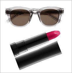 Winning Sunglasses And Lipstick Combos | The Zoe Report