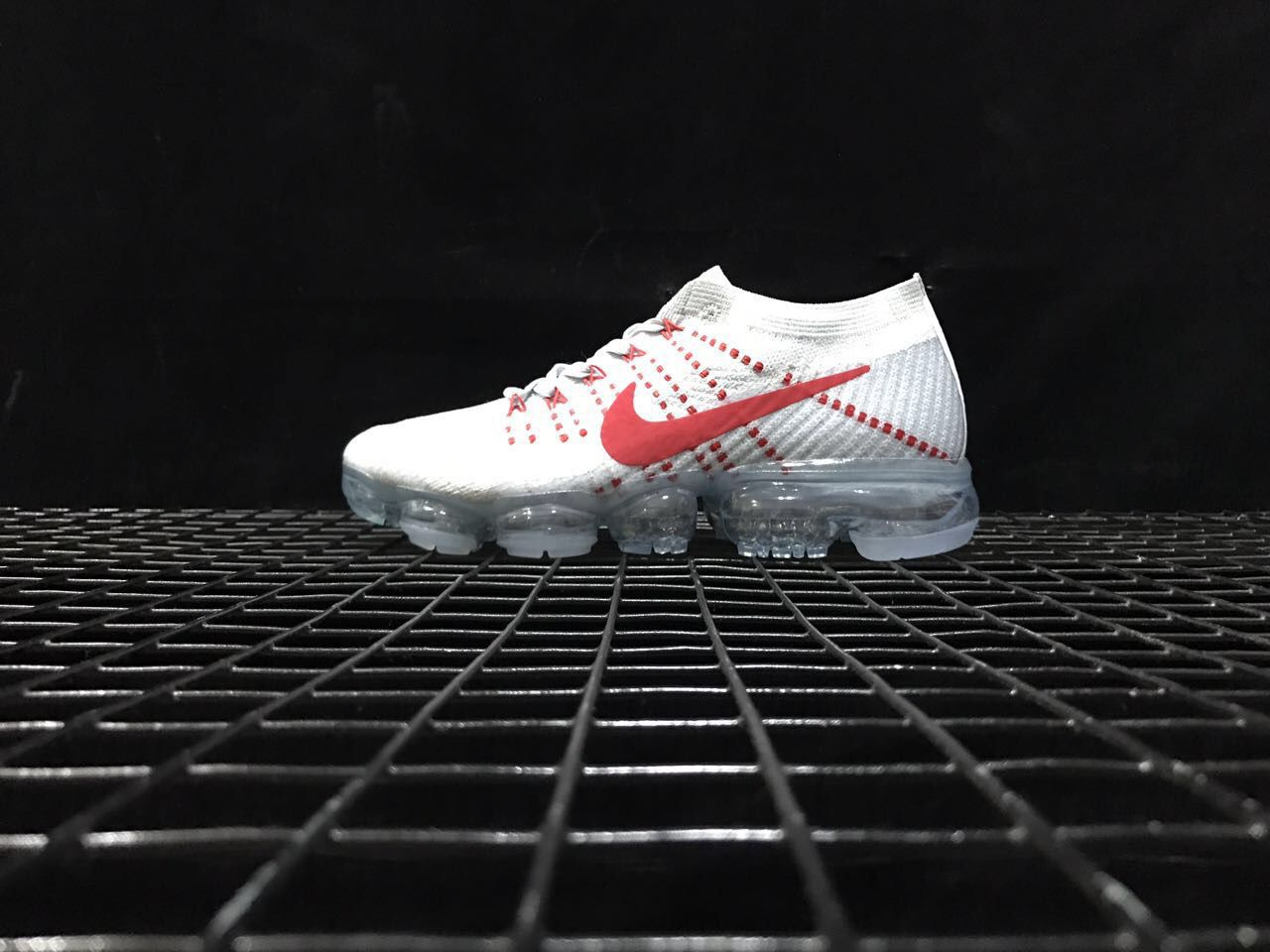 Nike Air VaporMax Flyknit 2018 White Red